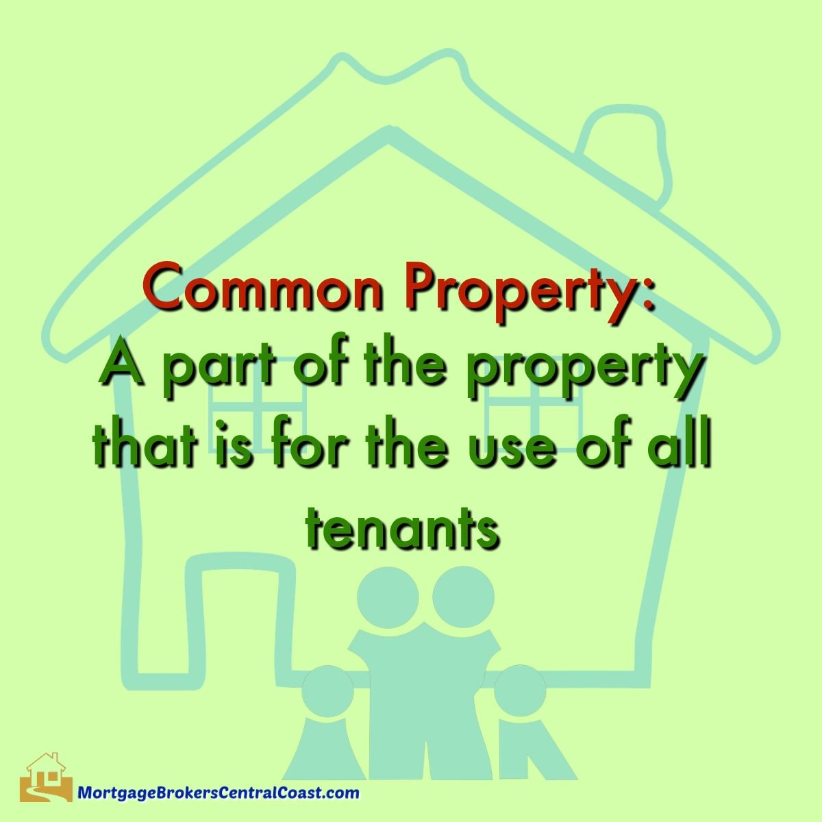 Common property a part of the property that is for the