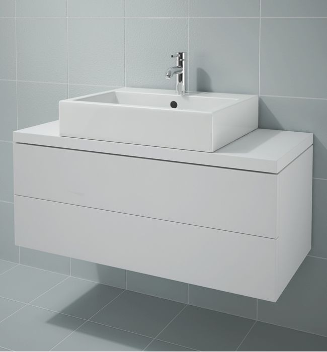 Duravit L Cube 1020mm 2 Drawer Vanity Unit For Console