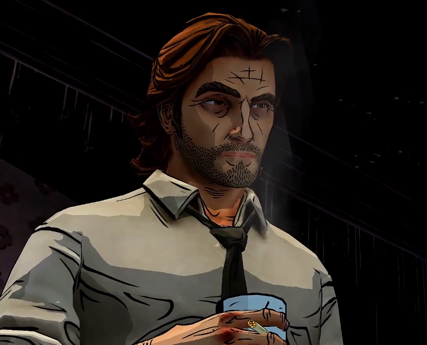The Wolf Among Us - Bigby Wolf. He reminds me so much of Adam Jensen from Deus Ex 3