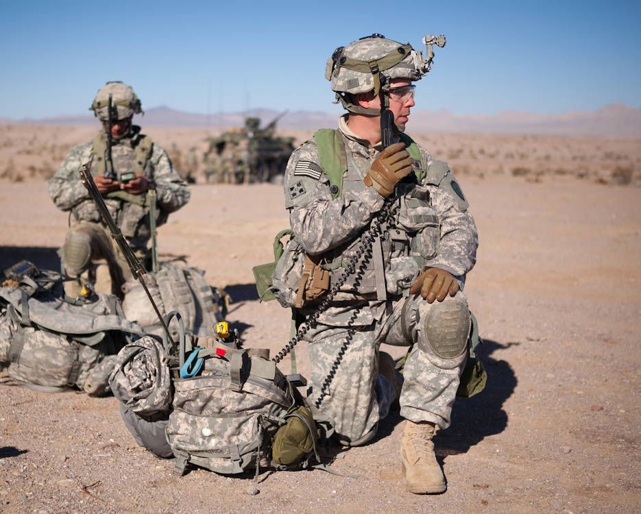U.S. Army Soldiers, 3rd Battalion, 21st Infantry Regiment ...