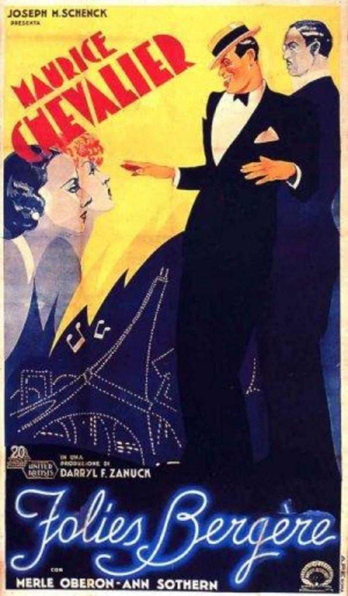 1936 FOLIES BERGERES DE PARIS