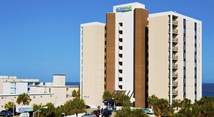 Ocean Park Resort A Beachfront Myrtle Beach Perfect For Family Vacations Oceana Resorts