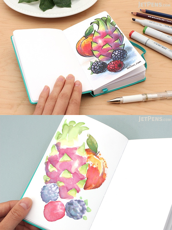 Use this slim, portable sketchbook to capture your artistic inspirations wherever they strike.