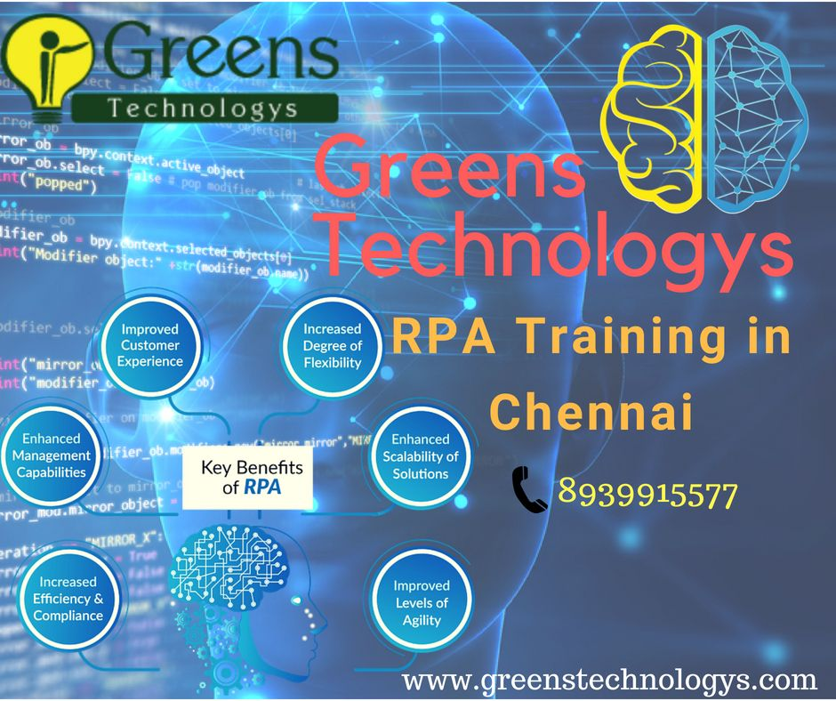 Robotic Process Automation (RPA) Training in Chennai (With