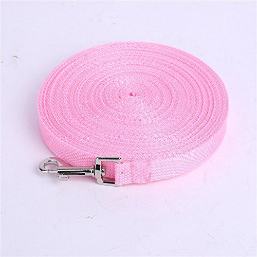 Custom Size 3m 6m 10m 15m 20m 31m 50m Long Dog Leash Pet Training Lead Rope For Small And Medium Size Dog 5 Colors Pink 3m Dog Branding Dog Leash Lead Rope