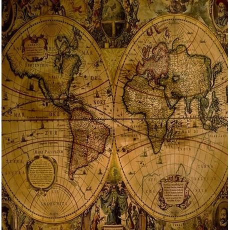 Ancient world map shower curtain on cafepress great for a ancient world map shower curtain on cafepress great for a steampunk bathroom sciox Gallery