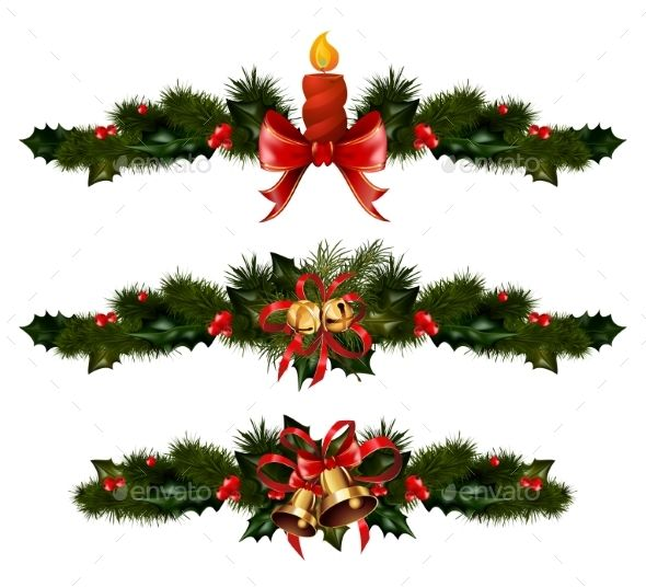 Christmas Decorations with Fir Tree and Decorative Download, Trees
