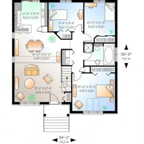 Browse Home Plans Designs At Monster Advance Search House Plans Single Storey House Plans Contemporary House Plans