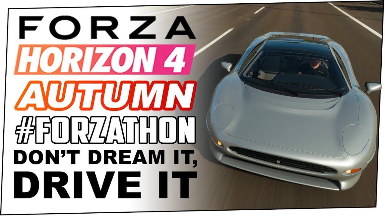 Dont dream it drive it autumn forzathon forza horizon
