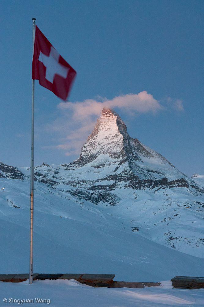 Zermatt, my husband has been here