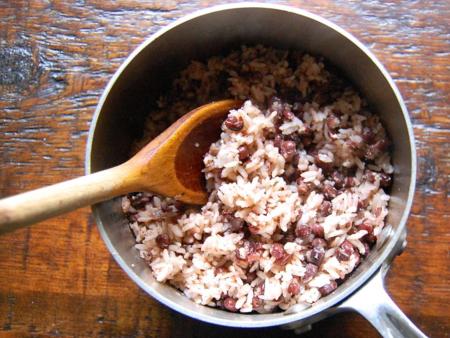 Red Bean Rice (팥밥 pat bap)