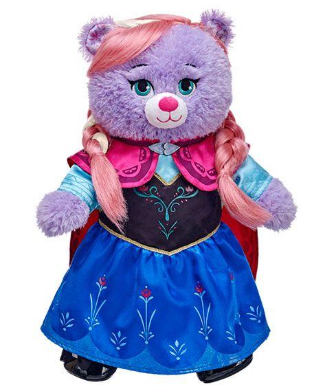 71dec8b76ce Oso de peluche de Disney s Frozen  Princess of Arendelle  Anna en Build-A- Bear Workshop