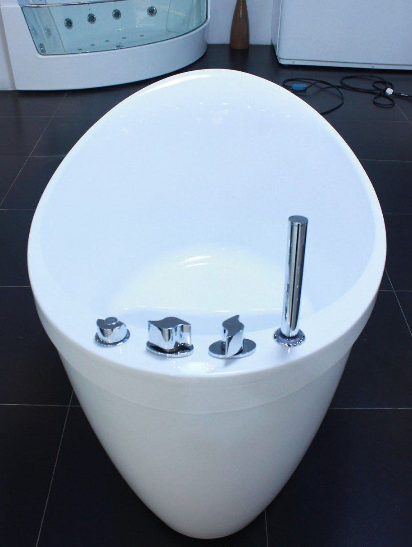 Bathroom , Deep Soaking Tub Ideas For Small Bathroom : White ...