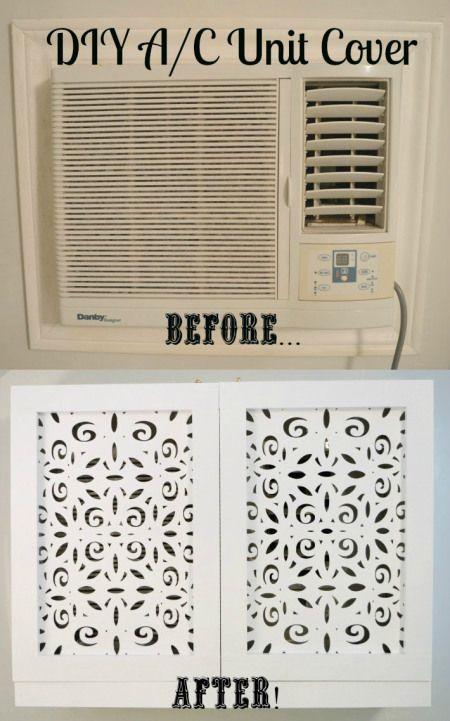 Diy A C Unit Cover Diy Air Conditioner Air Conditioner Units