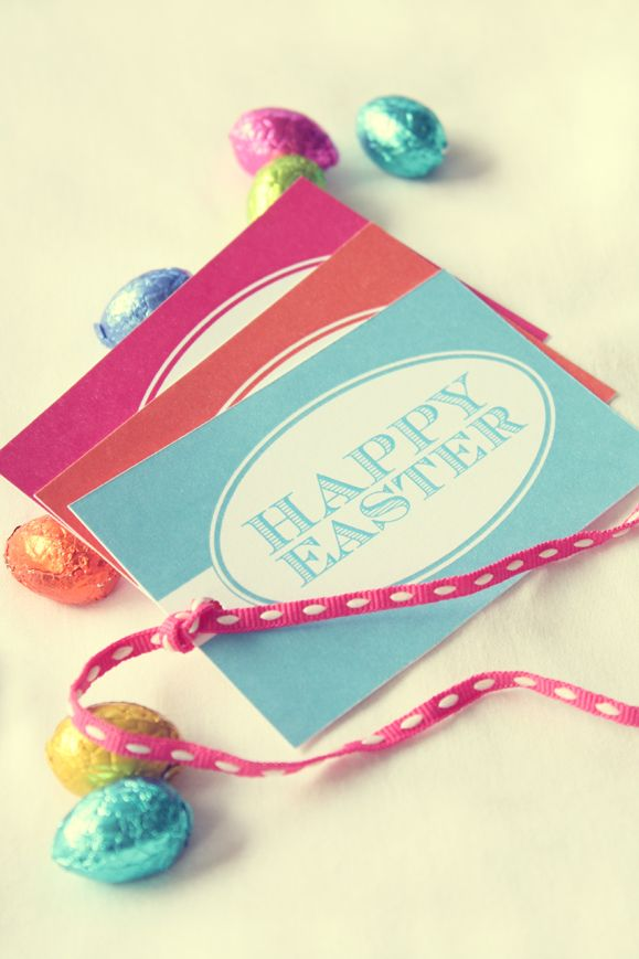 Happy easter free easter tag printable easter happy easter elephantshoe journal happy easter a free easter gift tag for you to download negle Images