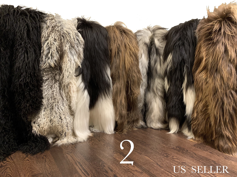 Genuine Sheepskin Rug Pelt * Iceland Sheepskin Rug