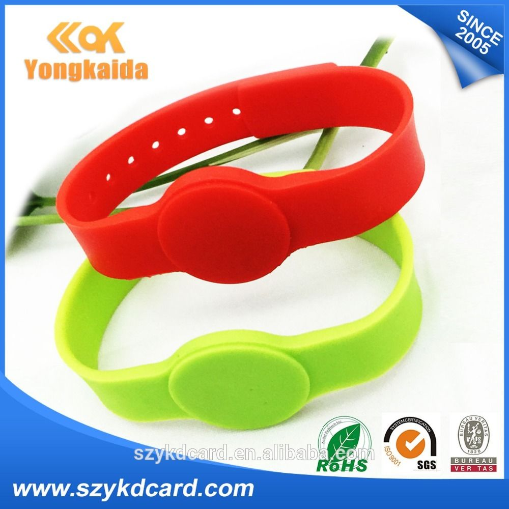 proximity o wristband chip card in cards control r rf bracelet tag rfid with item from em id access smart silicone