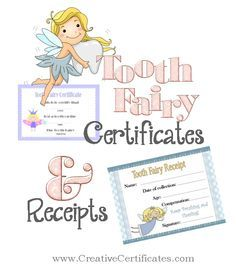 Free printable tooth fairy certificates and receipts for teeth free printable tooth fairy certificates and receipts for teeth that the tooth fairy takes yelopaper Image collections