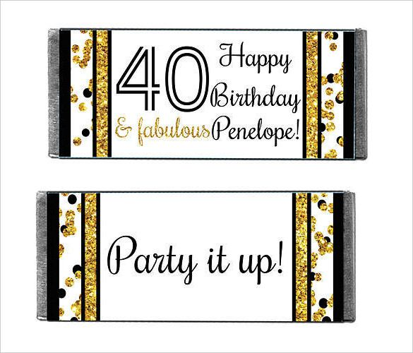 35+ Candy Bar Wrapper Templates - Free Word, PDF, PSD, EPS ...