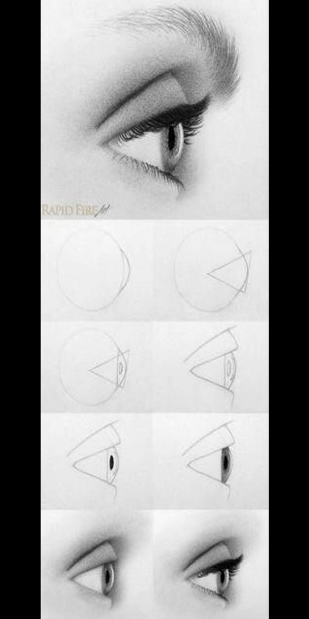 How to draw realistic eye step by step #realisticeye #realistice ... -  How to draw realistic eye step by step #realisticeye #realisticeye #realistische #step #sign  - #draw #Eye #FineArt #OilPaintings #PencilPortrait #realistic #realistice #realisticeye #Step