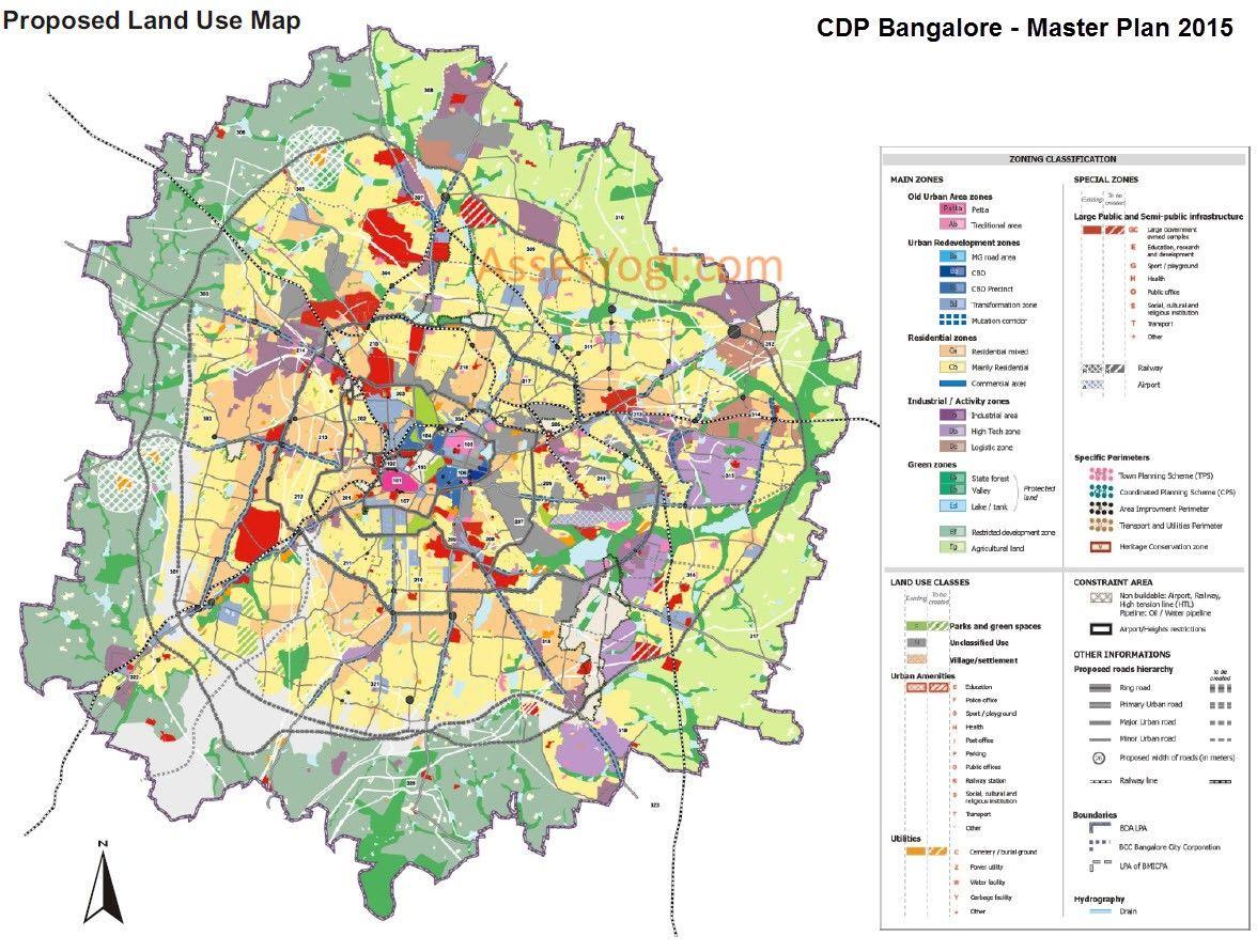 Cdp Bangalore Master Plan