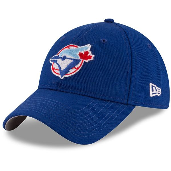 2860f7c1f8c579 Toronto Blue Jays New Era American League East World Series 9TWENTY  Adjustable Hat - Royal