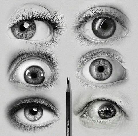 art dessin drawing crayon pencil eyes yeux oeil. Black Bedroom Furniture Sets. Home Design Ideas