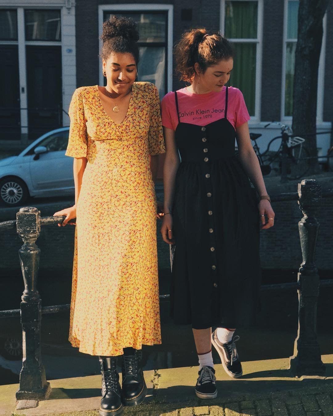 3bbe316bd9 UO Ditsy Daffodil Maxi Dress