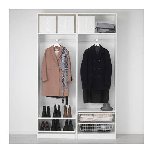 Pax armario blanco hasvik blanco 150 x 44 x 236 cm en 2019 apart alabastro - Ikea armarios modulares ...