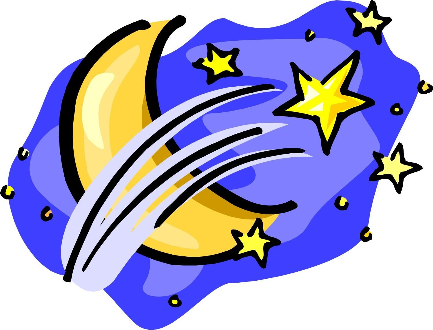 moon and stars clipart clipart kid the moon and stars rh pinterest co uk moon and stars clipart free clipart night moon and stars