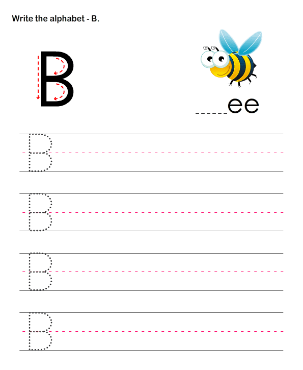 capital letters b esl efl worksheets preschool worksheets educational worksheets for kids. Black Bedroom Furniture Sets. Home Design Ideas