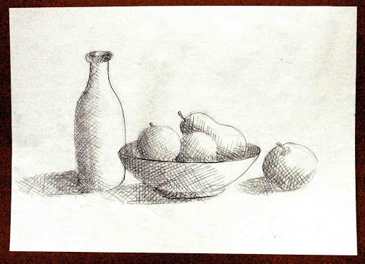 shading in cross hatching