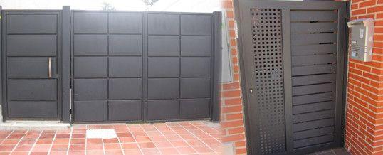 Caracter sticas m s importantes de las puertas met licas for Puertas metalicas exterior