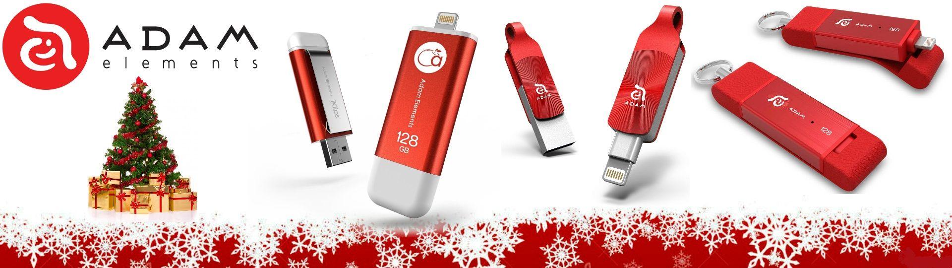 Adam Elements Christmas Treat Electronics Gadgets Pinterest Element Iklips Flash Drive 128gb Red