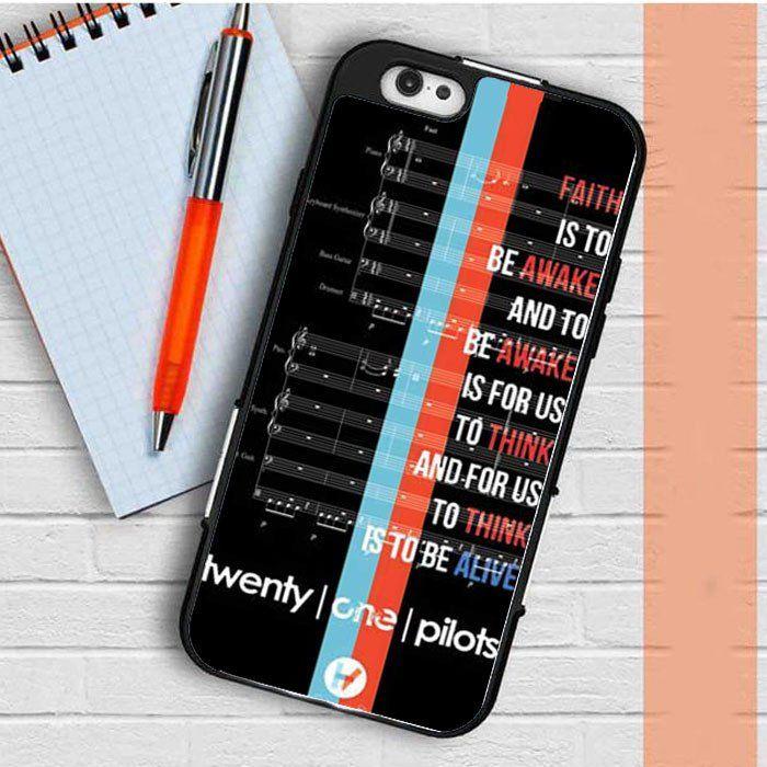 Twenty One Pilots car radio sheet music iPhone 7   7 Plus Case ...