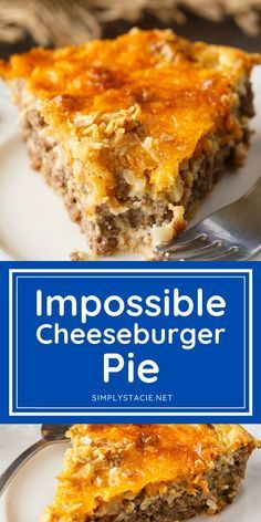 Impossible Cheeseburger Pie - Simply Stacie