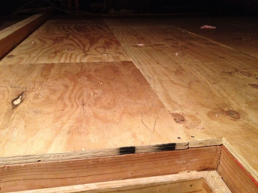 Plywood flooring for the Attic because it is stable and easy to replace if  water did get into the house. I chose plywood attic floors because they are  easy ...