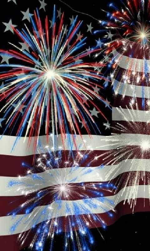 American Flag Fireworks 4th Of July Wallpaper Iphone Wallpaper 4th Of July Fireworks Wallpaper