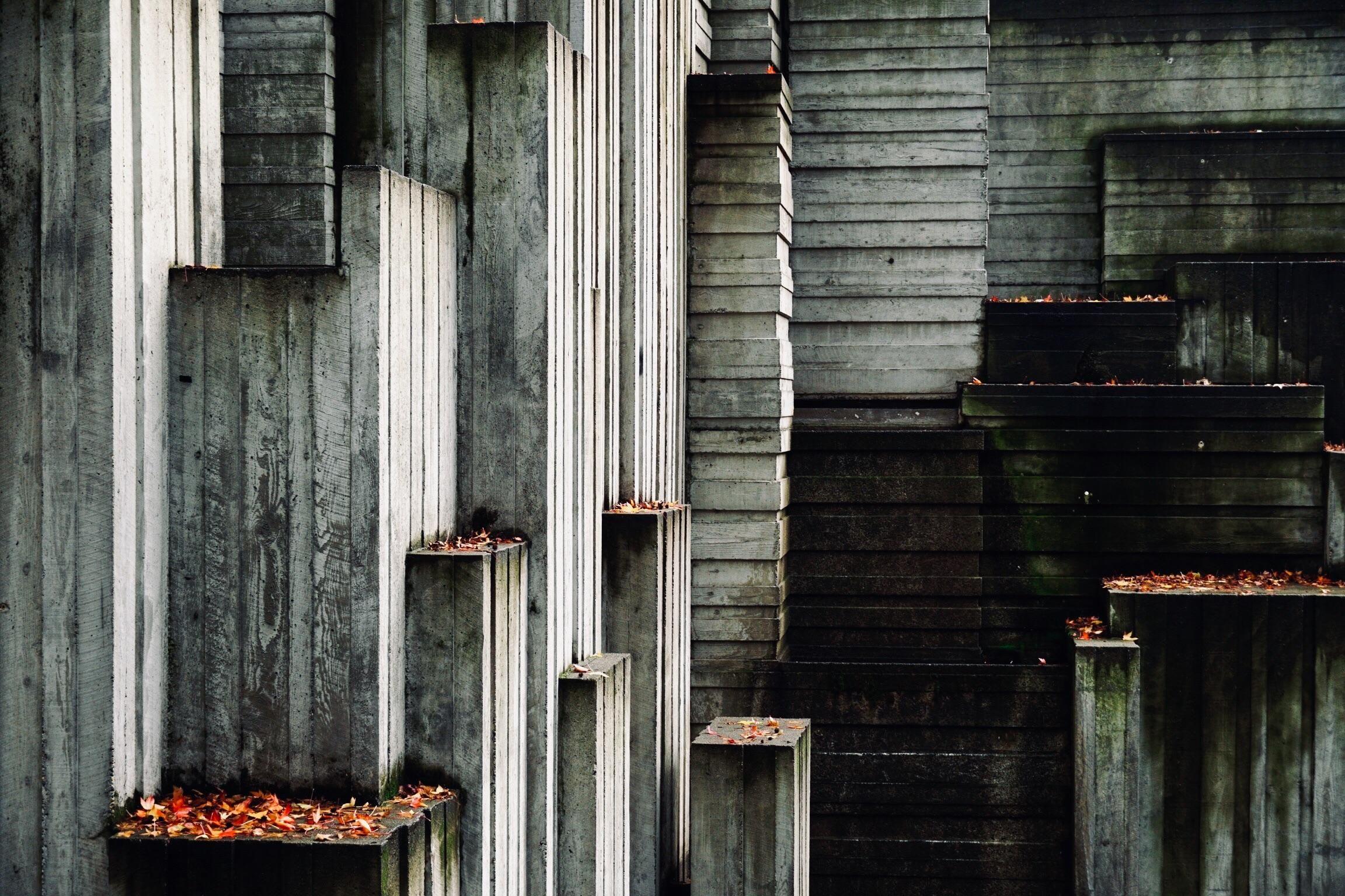 Eerie architecture in Seattle captured by my boyfriend