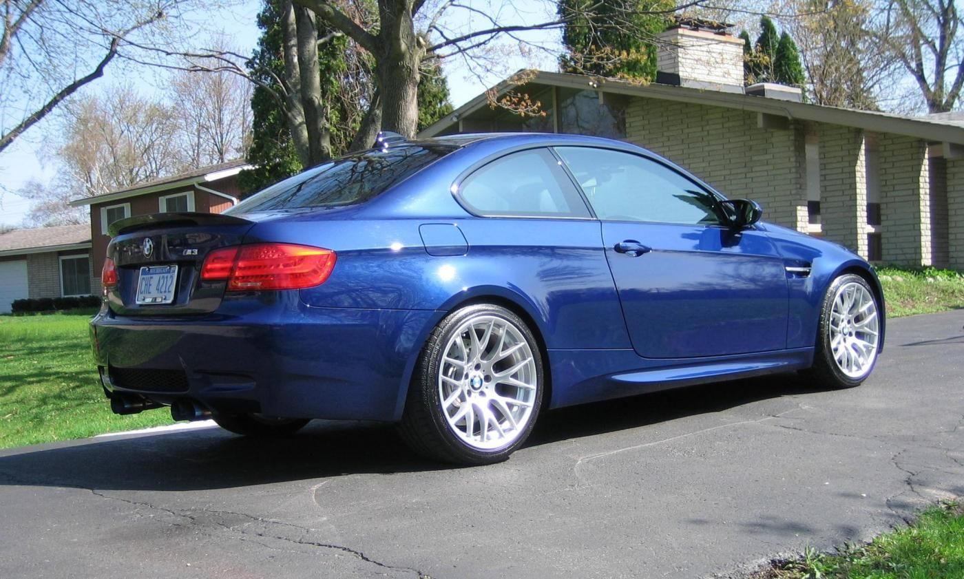 Interlagos Blue E92 M3 Bmw Blue Car