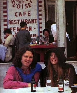 Jim Morrison and Pam were living  on the rue Beautreillis in Paris on the right bank at this point in April 1971
