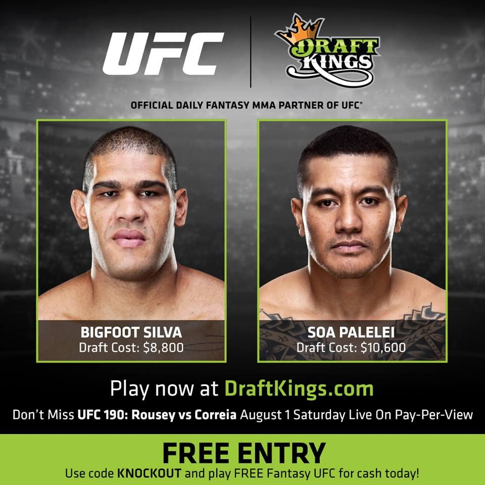 Pin by Marc Merc on mma Cash today, Daily fantasy, Pay
