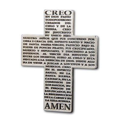 Cruz Recordatorio 'Credo'