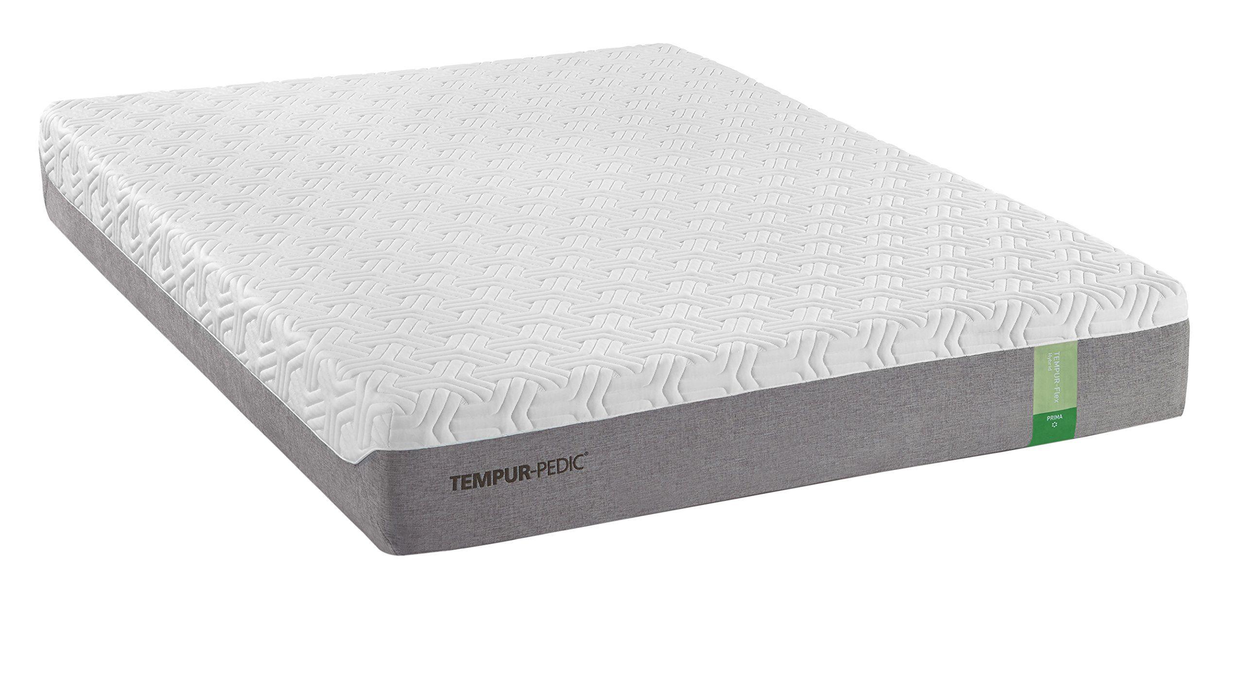 tempur flex hybrid prima medium firm mattress queen furniture