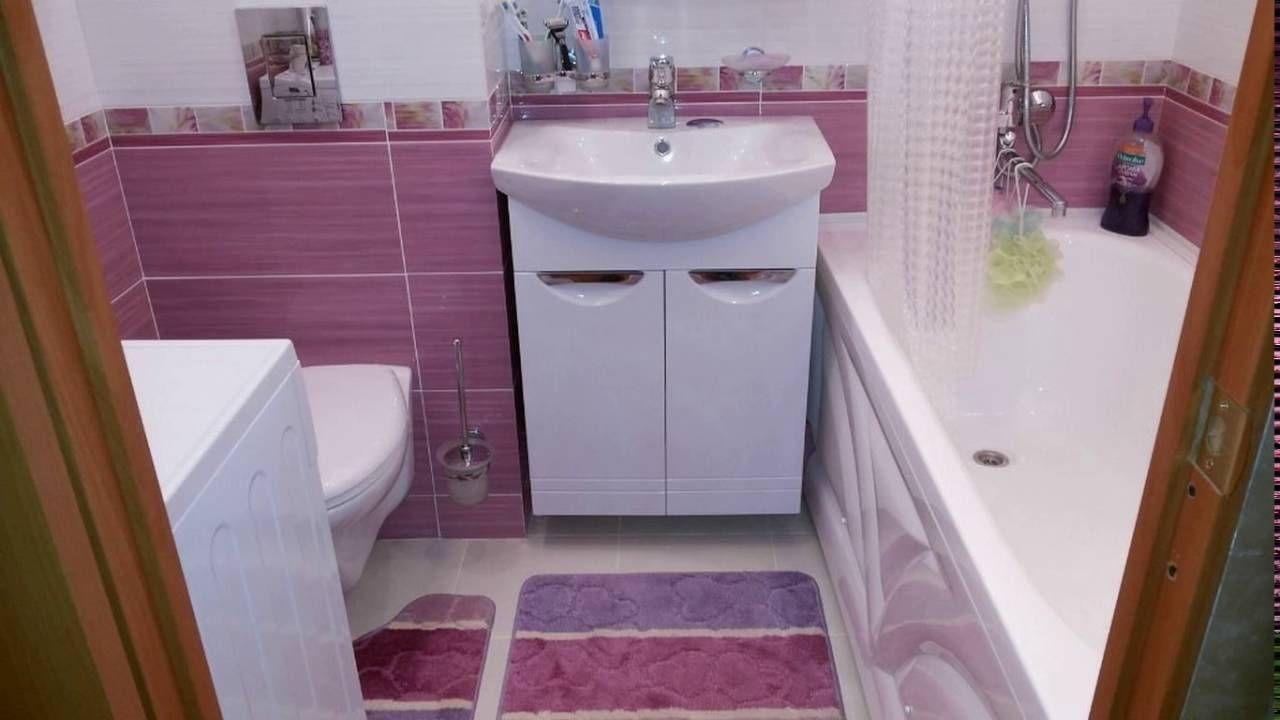 Сиреневая плитка для ванной комнаты фото | Фиолетовые ...
