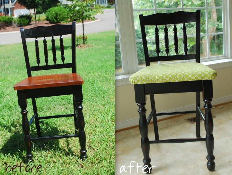 Dining Room Chair Makeover  Chair Makeover Future And Kitchens Fair Upholster Dining Room Chairs Decorating Inspiration