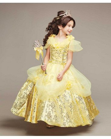The Ultimate Collection Disney Princess Belle Costume for Girls ... d3c3155f02