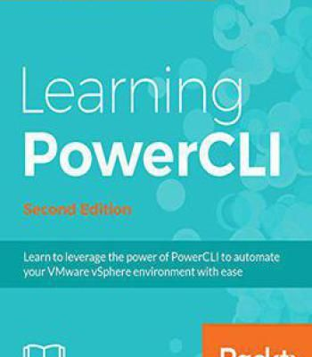 Learning Powercli Second Edition Pdf Free Learning Packt