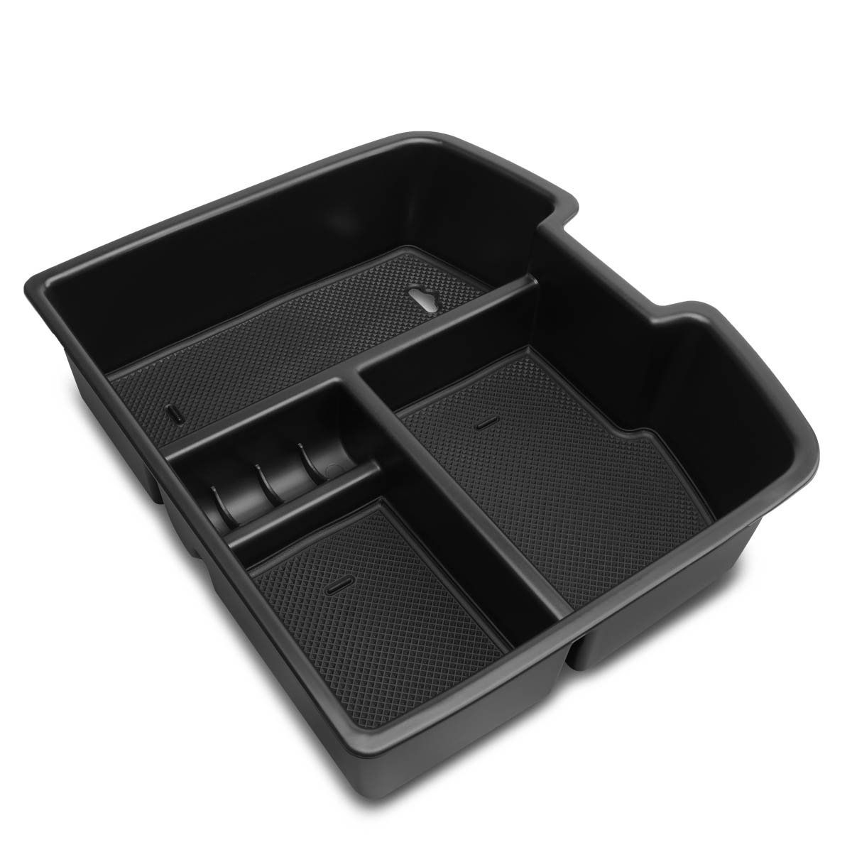 07 14 Chevy Silverado Gmc Sierra Center Console Organizer Insert Tray W Silicone Mats Console Organization Center Console Chevy Silverado