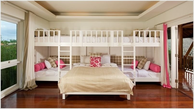 10 Fabulous Ideas To Design A Room For Four Kids 9